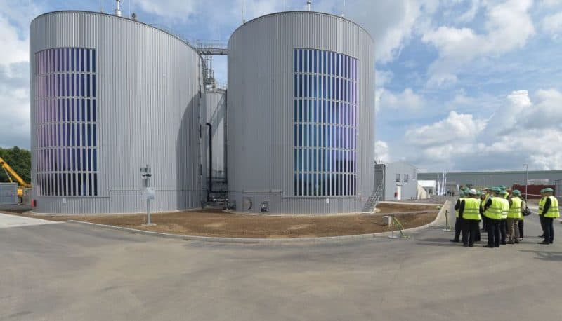 Inauguration of biogas plant in Bergheim-Paffendorf (Germany) © RWE
