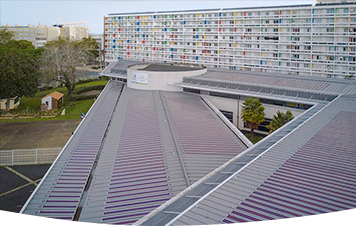 La Rochelle with Heliatek's solar film solution HeliaSol® in France