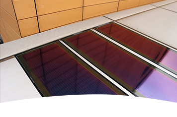 Heliatek solar films for SAMSUNG in South Korea