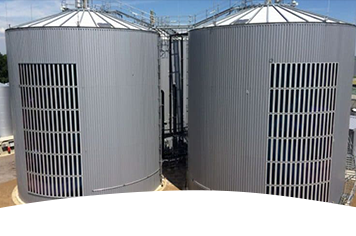 Organic solar films from Heliatek on a biogas plant