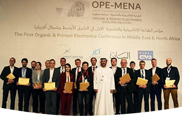 Heliatek and other representatives at the OPE-MENA conference