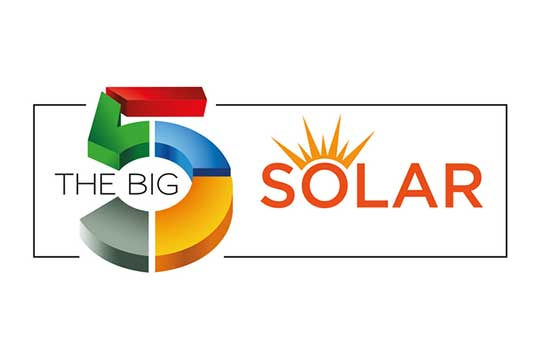 Logo for The Big 5 Solar Dubai 2021